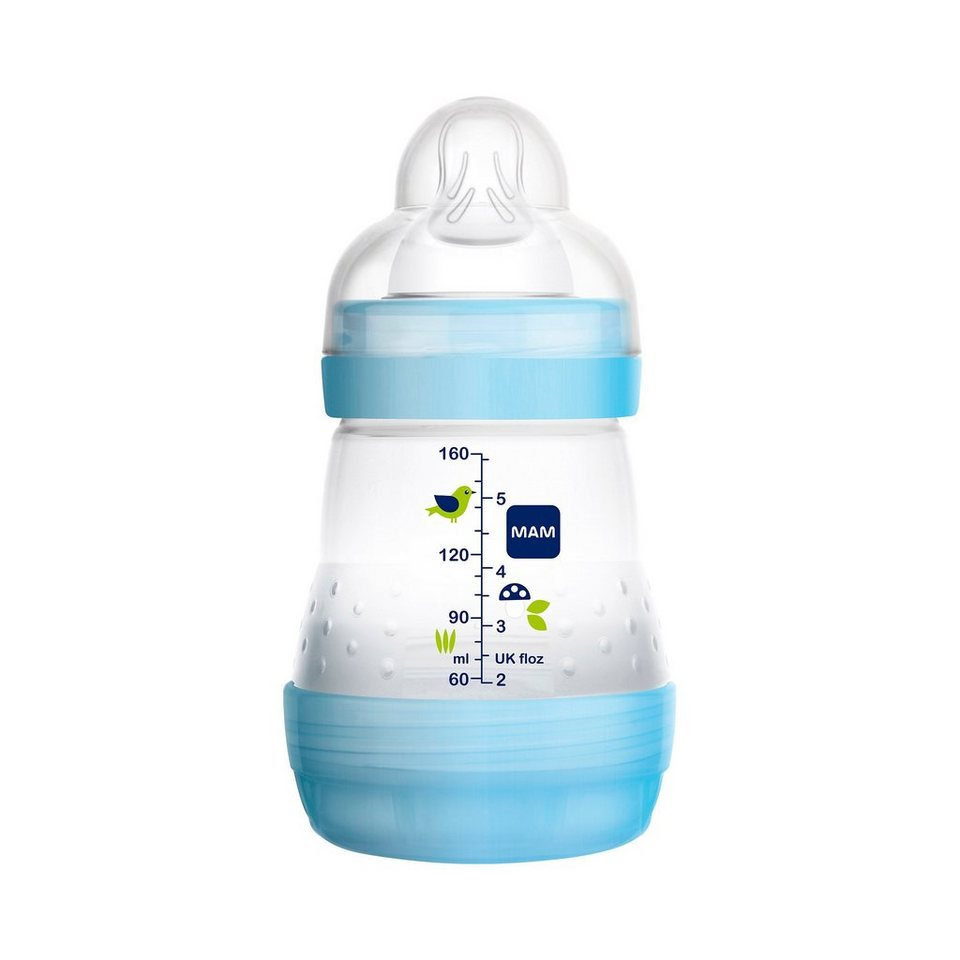 MAM Anti-Colic-Flasche in blau