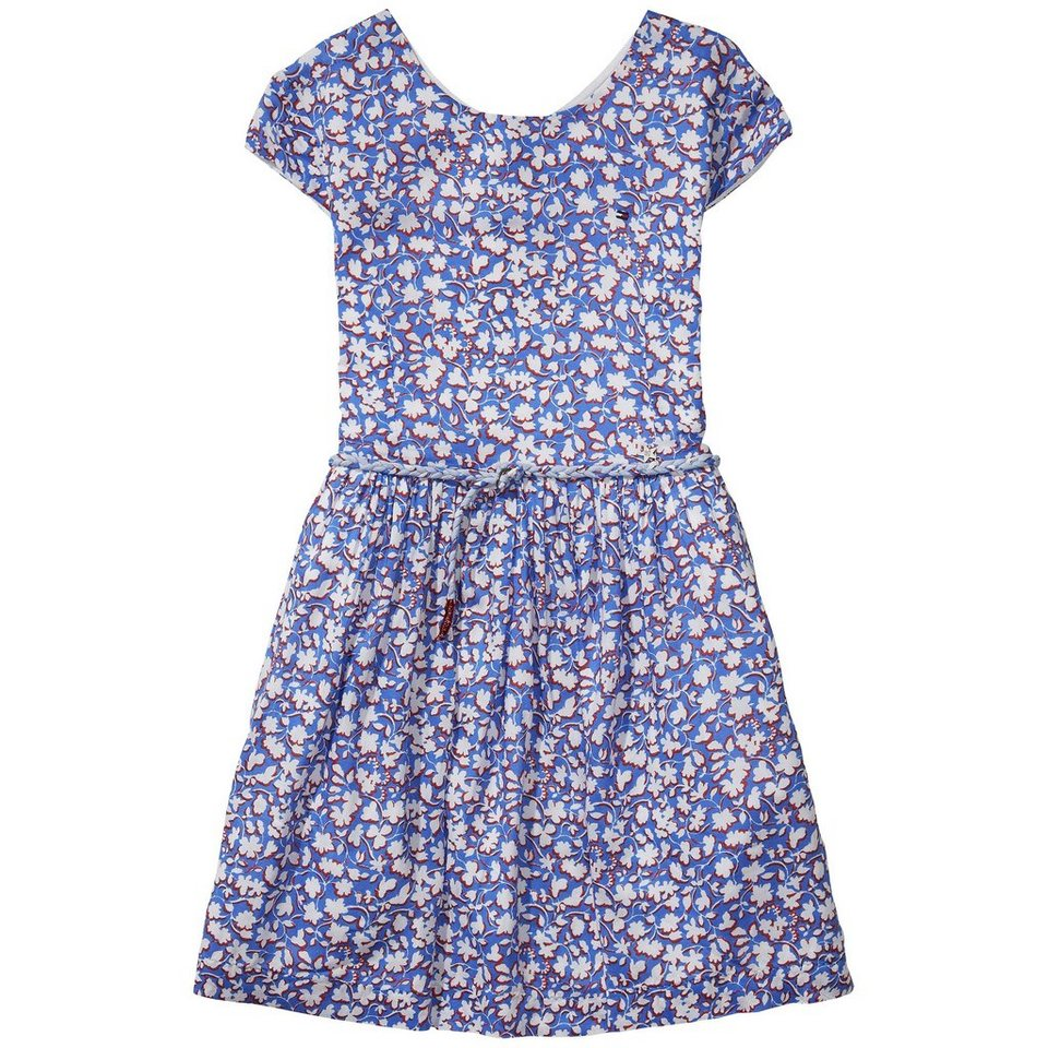 Tommy Hilfiger Dresses »FELINE PRINT DRESS S/S« in Palace Blue