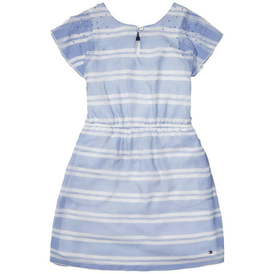 Tommy Hilfiger Dresses »DG ZIGZAG STRIPE DRESS S/S« in white