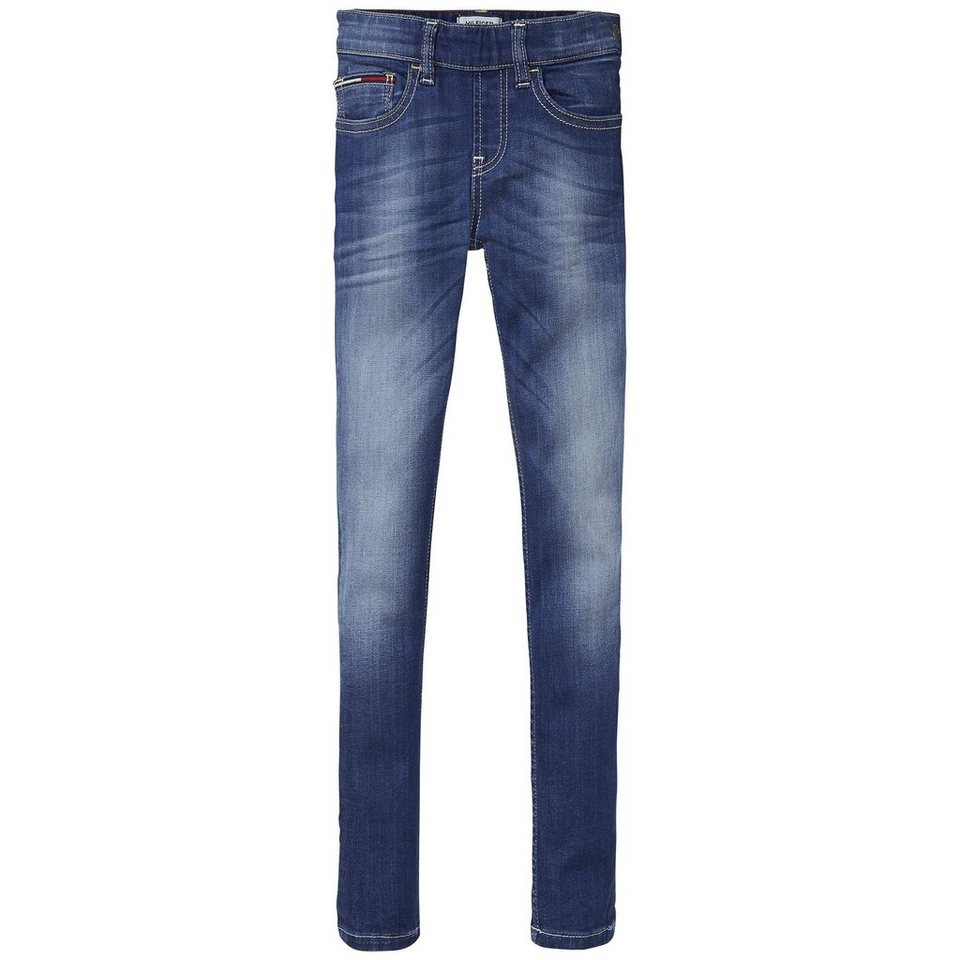 Tommy Hilfiger Denim Pants »RENEE SUPER SKINNY IBSTR« in Island Blue Stretch