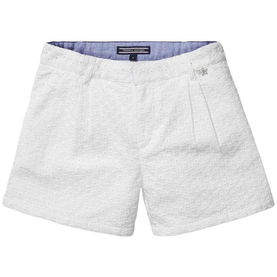 Tommy Hilfiger Shorts »FLORENCE SHORT« in white