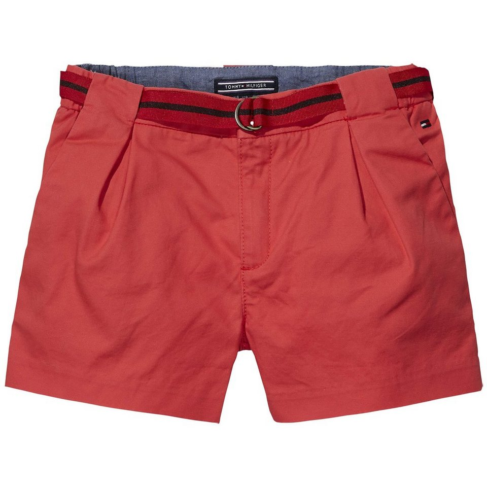 Tommy Hilfiger Shorts »SUNSET TWILL SHORT« in Tomato