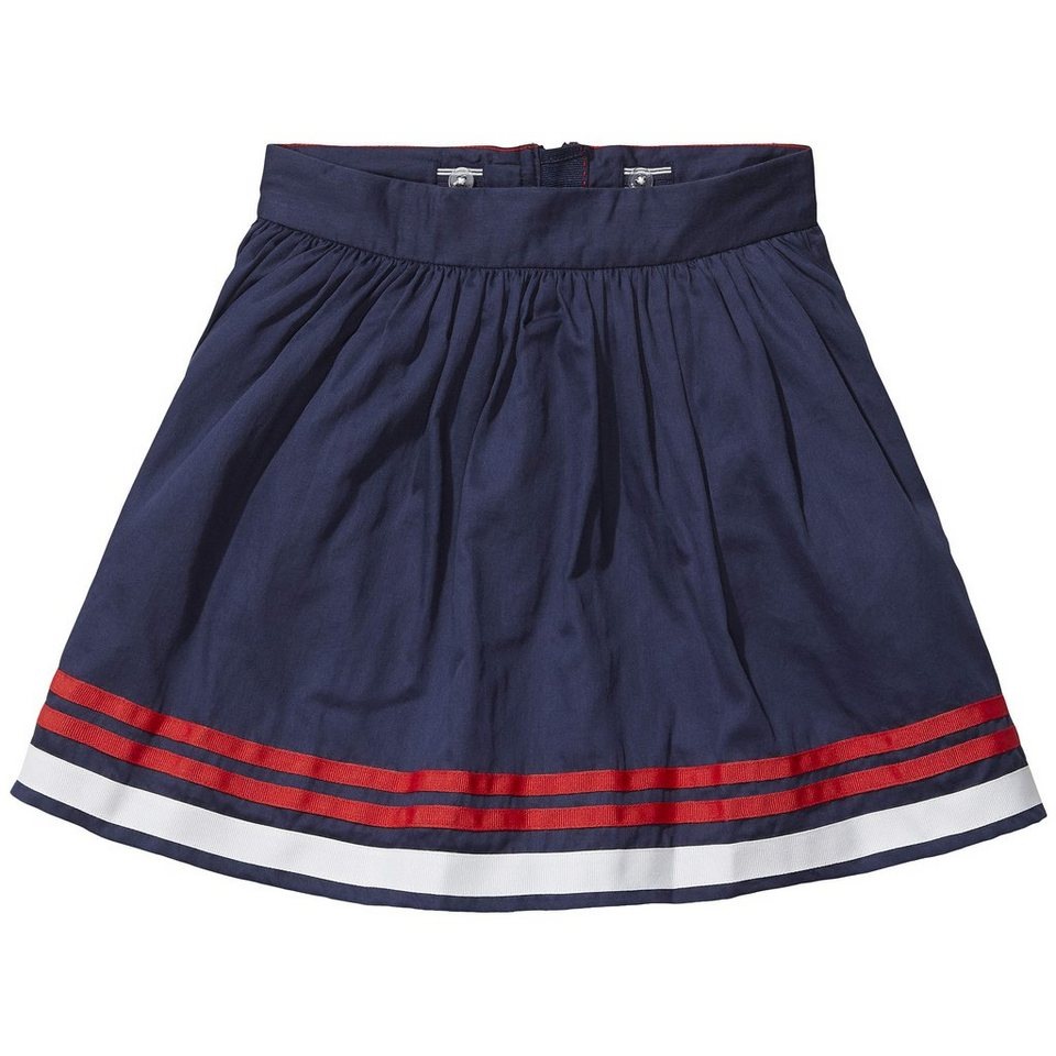 Tommy Hilfiger Skirts »PLACED STRIPE SKIRT« in Black Iris