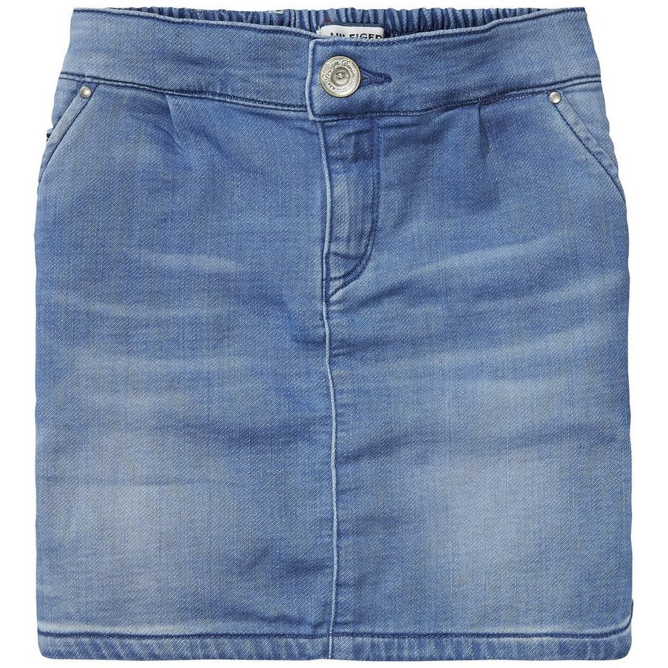 Tommy Hilfiger Skirts »VIKKY DENIM SKIRT KDLSTR« in Knit Denim Ligt Stretch