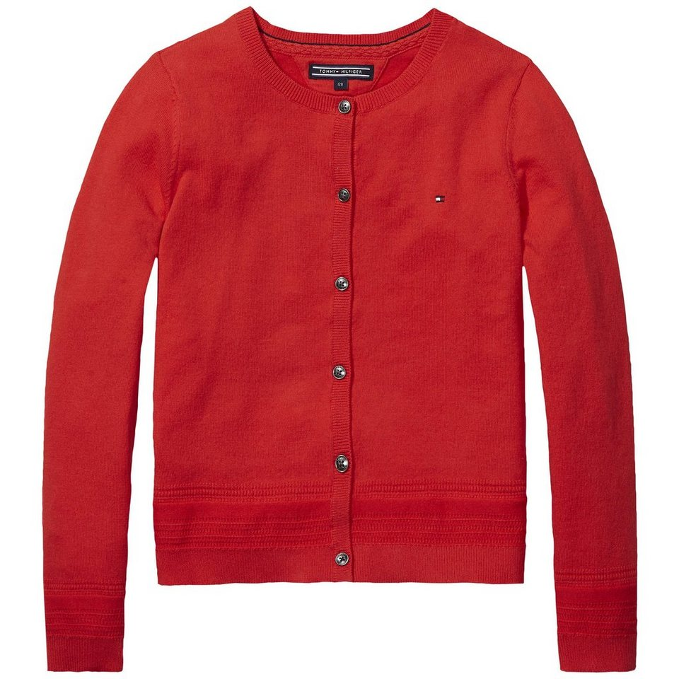 Tommy Hilfiger Cardigans »CAMILLE CARDIGAN L/S« in Blush