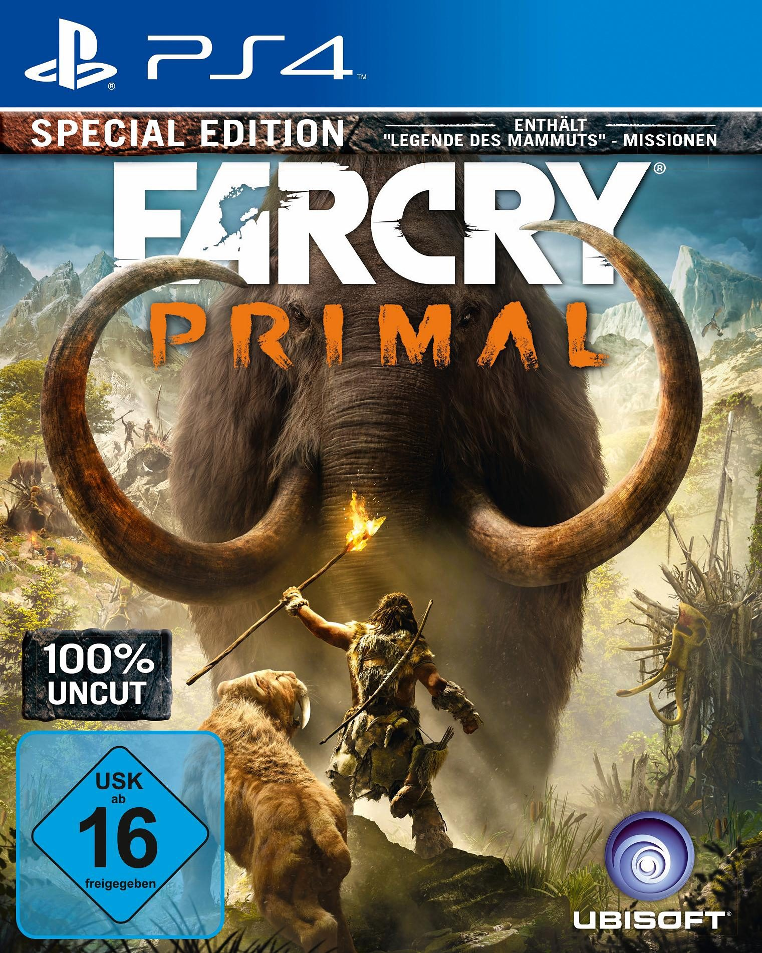 Far Cry Primal Special Edition (100% Uncut) PlayStation 4