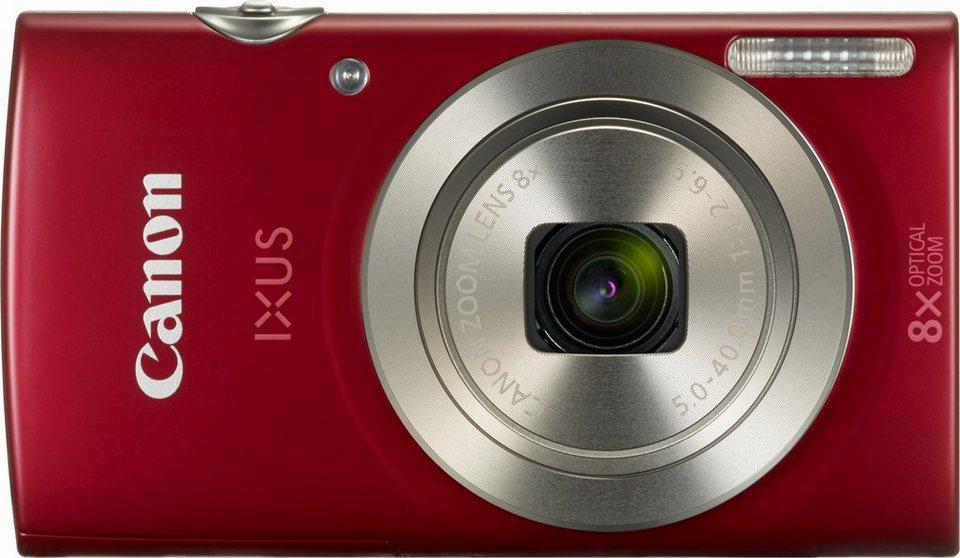 Canon IXUS 175 Kompakt Kamera, 20 Megapixel, 8x opt. Zoom, 6,8 cm (2,7 Zoll) Display in rot