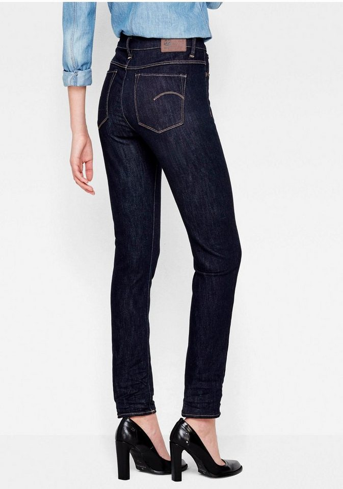 G-Star Skinny-fit-Jeans »3301 Deconst Ultra High Super Skinny« mit hoher Leibhöhe in raw