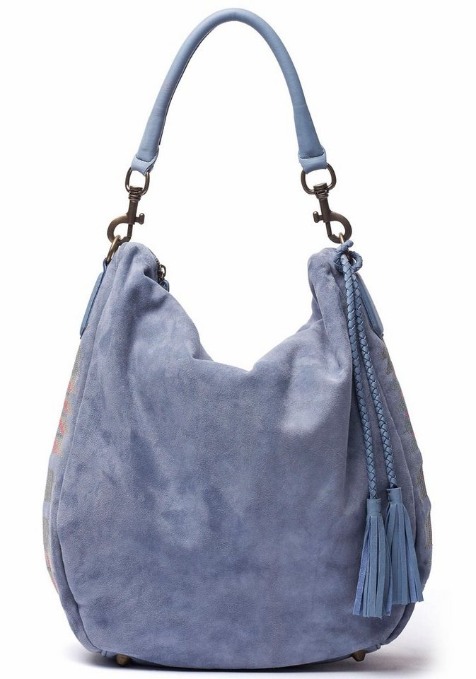 Liebeskind Shopper »Niva« in blau-grau