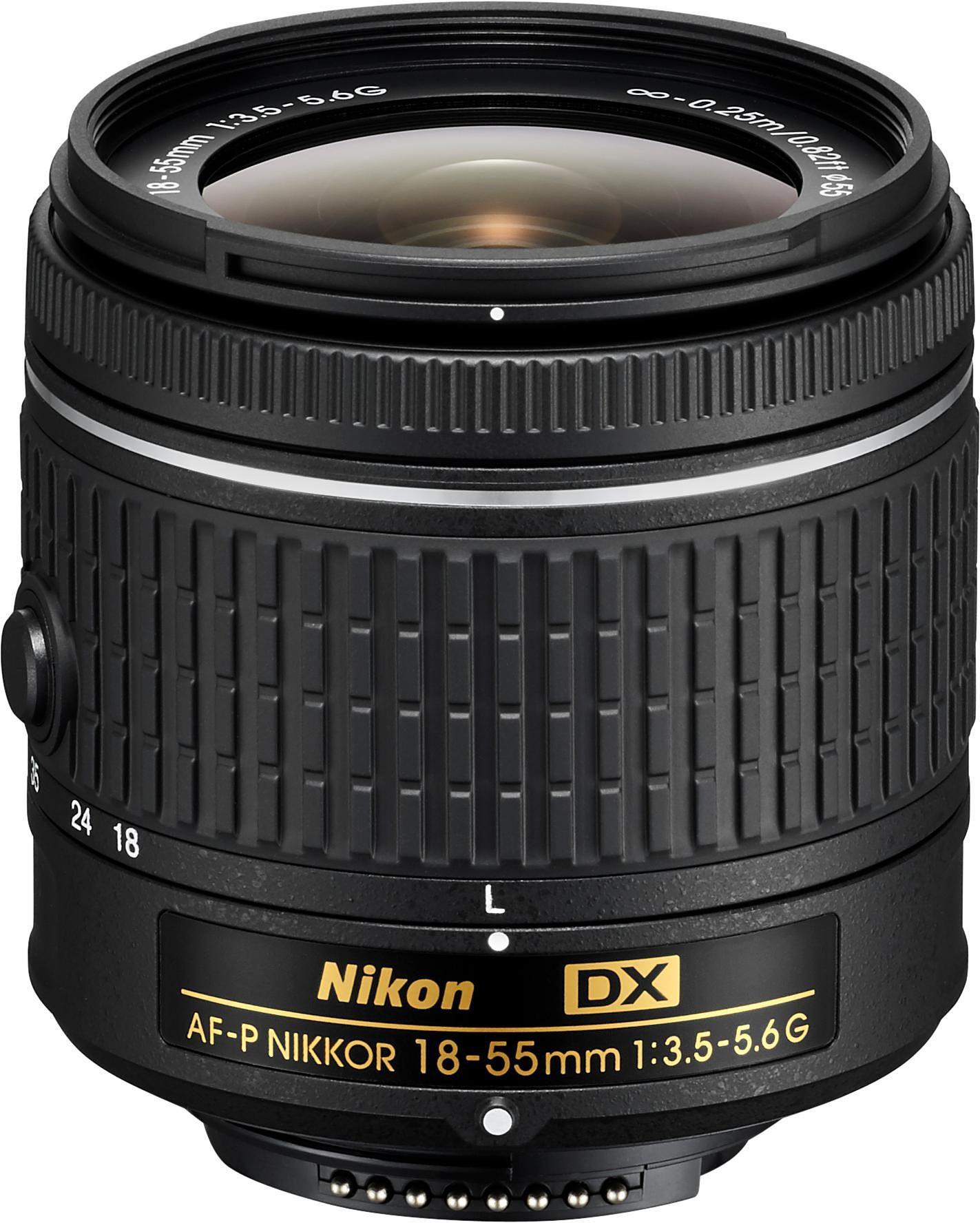 NIKON AF-P DX NIKKOR 18-55 mm 1:3,5-5,6 G Standardzoom Objektiv