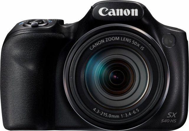Digitalkameras - Canon »PowerShot SX540 HS« Superzoom Kamera (20,3 MP, 50x opt. Zoom, WLAN (Wi Fi), NFC, PictBridge Unterstützung)  - Onlineshop OTTO