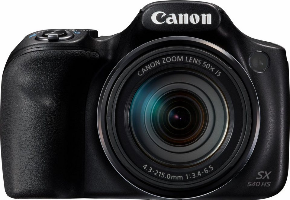 Canon PowerShot SX540 HS Super Zoom Kamera, 20,3 Megapixel, 50x opt. Zoom, 7,5 cm (3 Zoll) Display in schwarz
