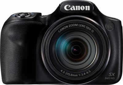 Canon »PowerShot SX540 HS« Superzoom-Kamera (20,3 MP, 50x opt. Zoom, WLAN (Wi-Fi), NFC, PictBridge-Unterstützung)