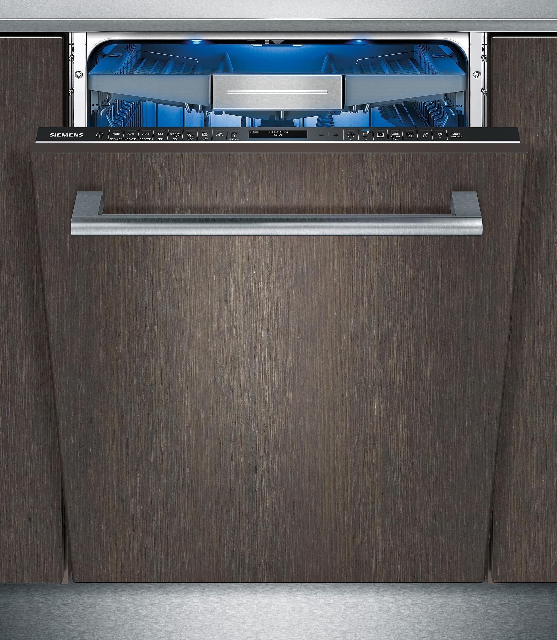 Siemens vollintegrierbarer Einbaugeschirrspüler SX678X26TE, A+++, 7,5 Liter, 13 Maßgedecke
