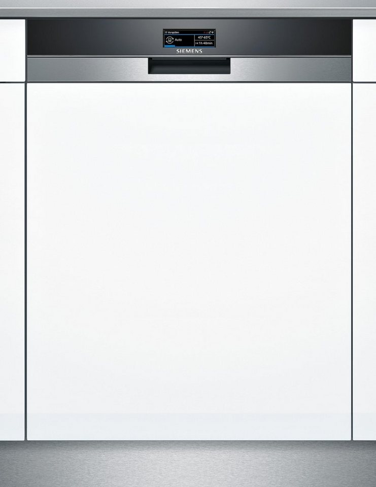 Siemens integrierbarer Einbaugeschirrspüler SX578S26TE, A+++, 7,5 Liter, 13 Maßgedecke