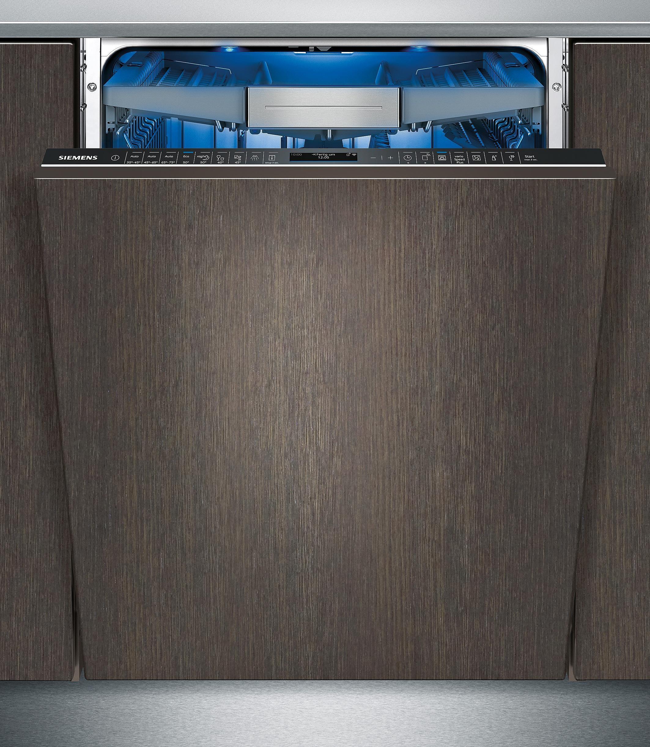 Siemens vollintegrierbarer Einbaugeschirrspüler SX678X16TE, A+++, 9,5 Liter, 14 Maßgedecke