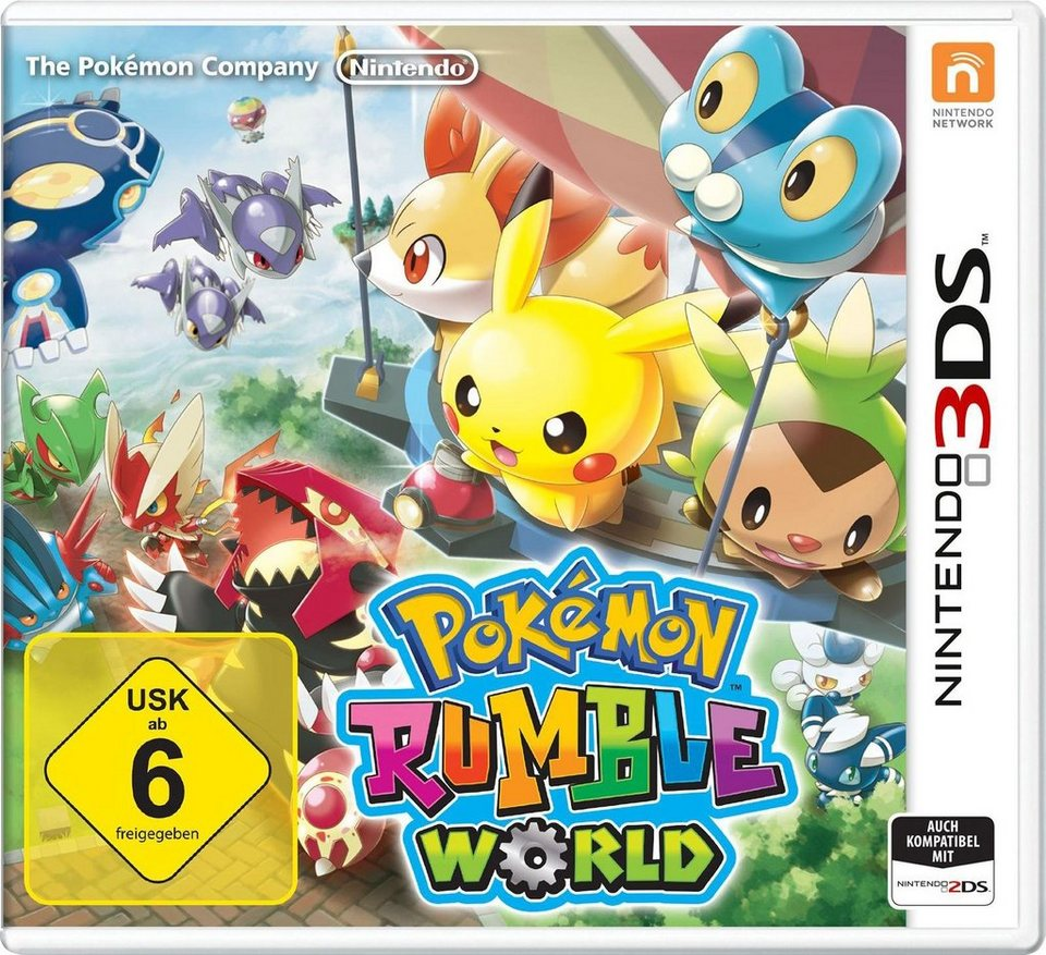 Pokémon Rumble World Nintendo 3DS