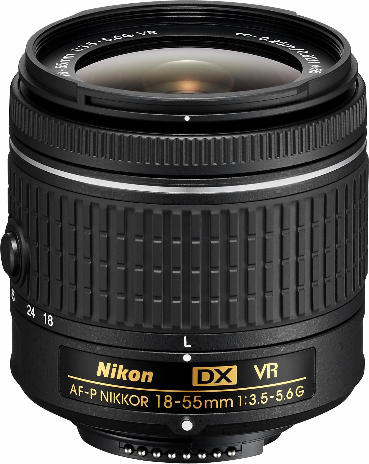 Nikon AF-P DX NIKKOR 18-55 MM 1:3,5-5,6 G VR Standardzoom Objektiv