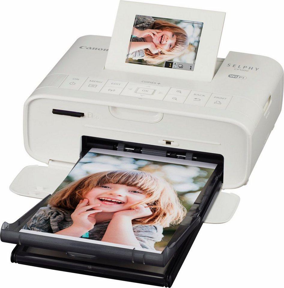 Canon Selphy CP1200 Fotodrucker in weiß