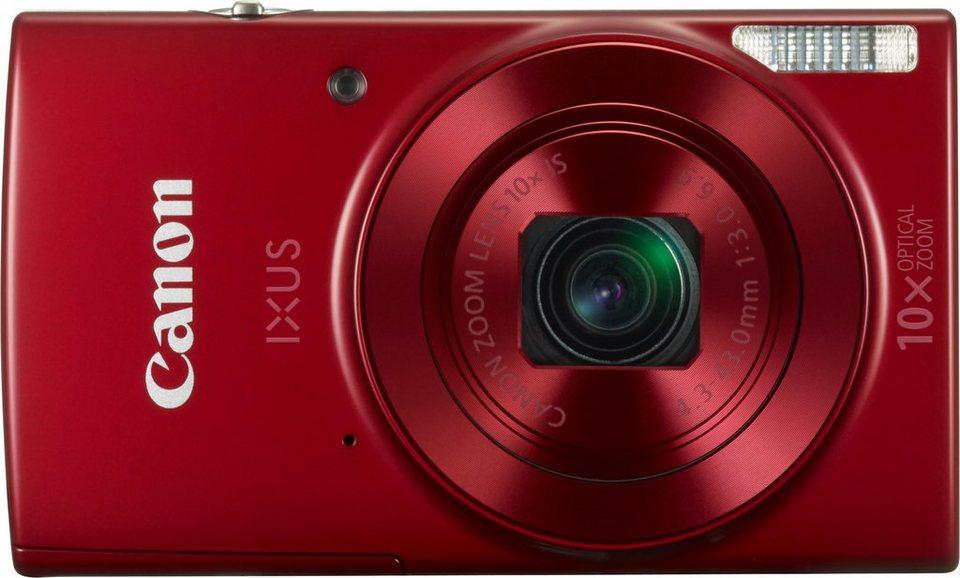 Canon IXUS 180 Kompakt Kamera, 20 Megapixel, 10x opt. Zoom, 6,8 cm (2,7 Zoll) Display in rot
