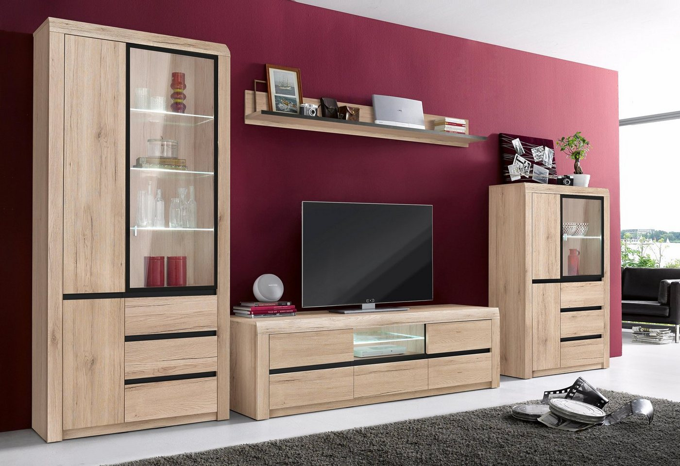 wohnw nde bei otto otto preisvergleiche erfahrungsberichte und kauf bei nextag. Black Bedroom Furniture Sets. Home Design Ideas