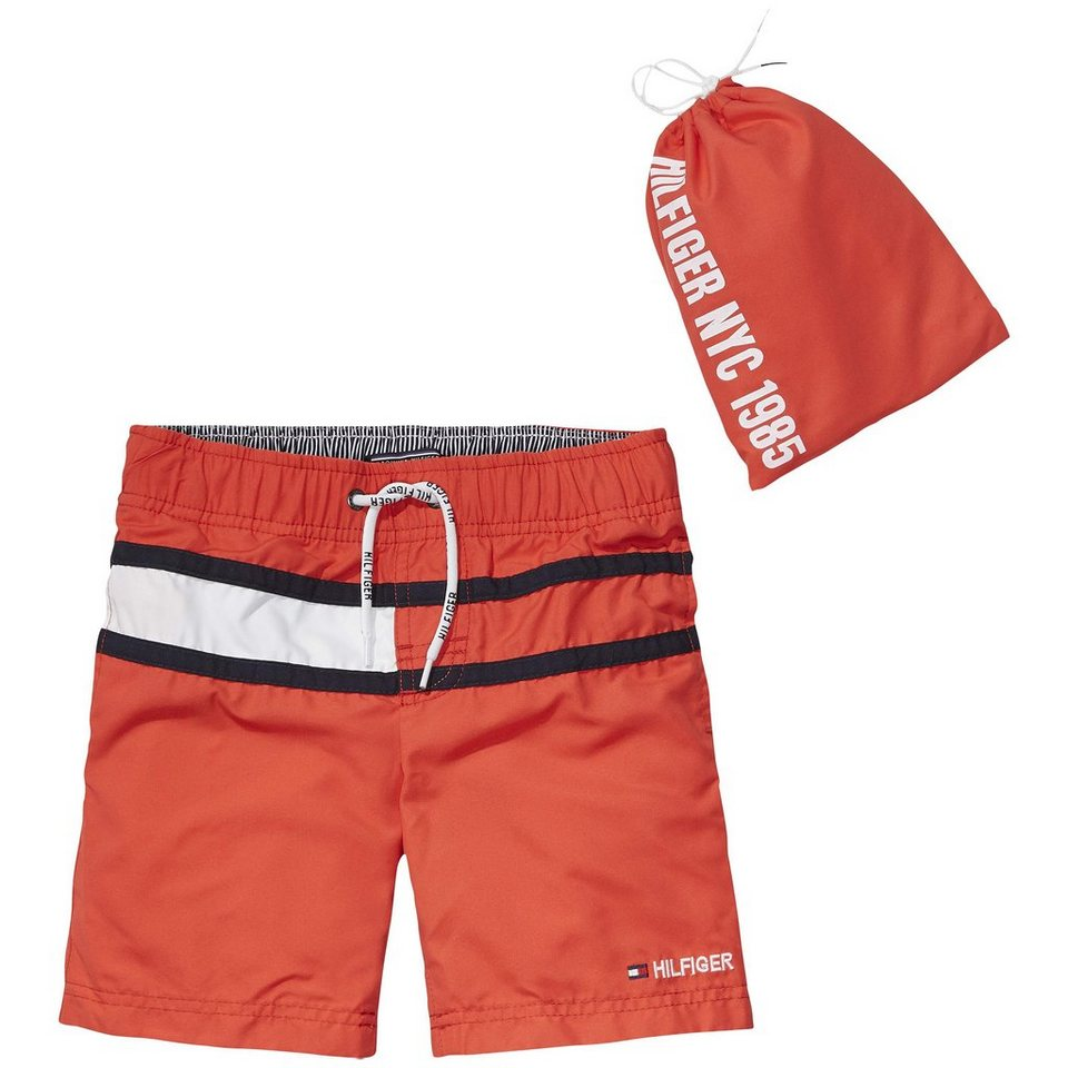 Tommy Hilfiger Swimwear »FLAG SWIMSHORT« in Tomato