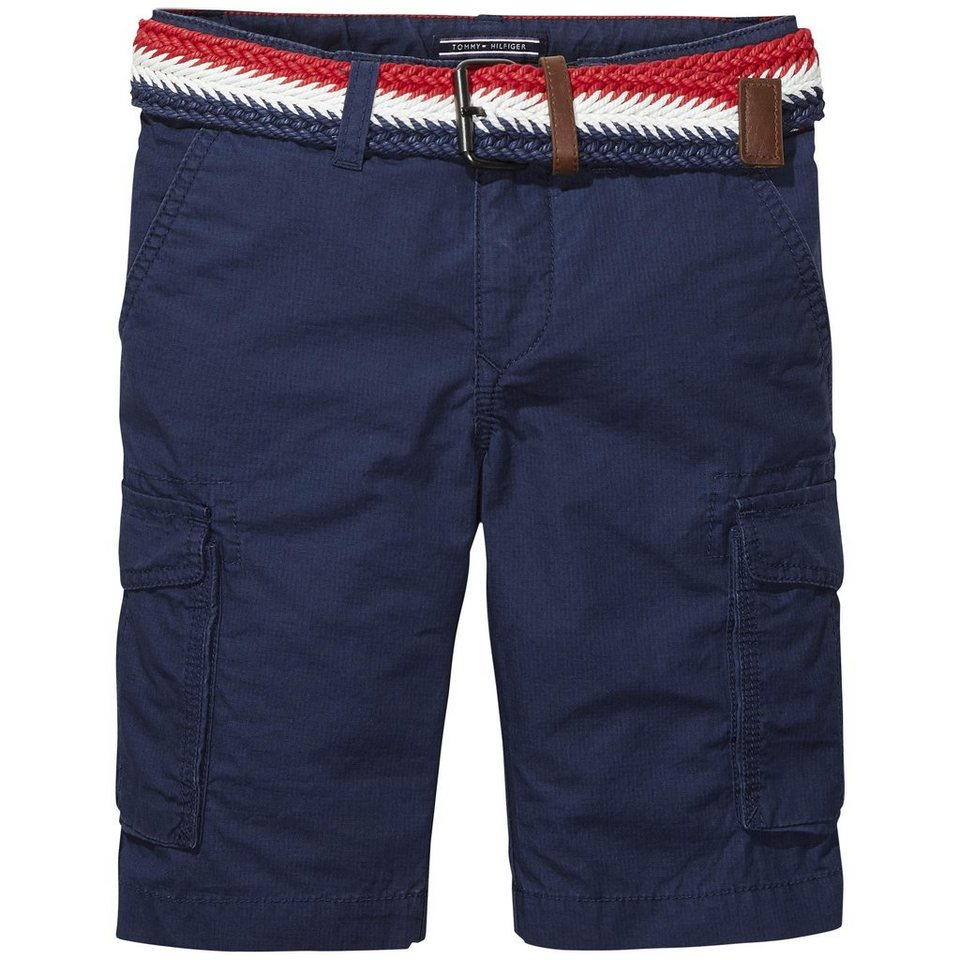 Tommy Hilfiger Shorts »MANUEL CARGO SHORT« in Black Iris