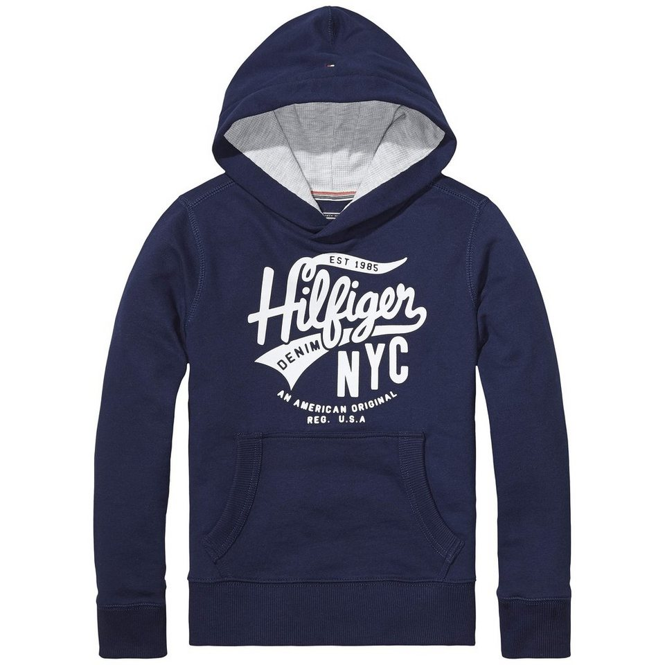 Tommy Hilfiger Other Heavyweight Knits »HILFIGER HD HWK L/S« in Black Iris