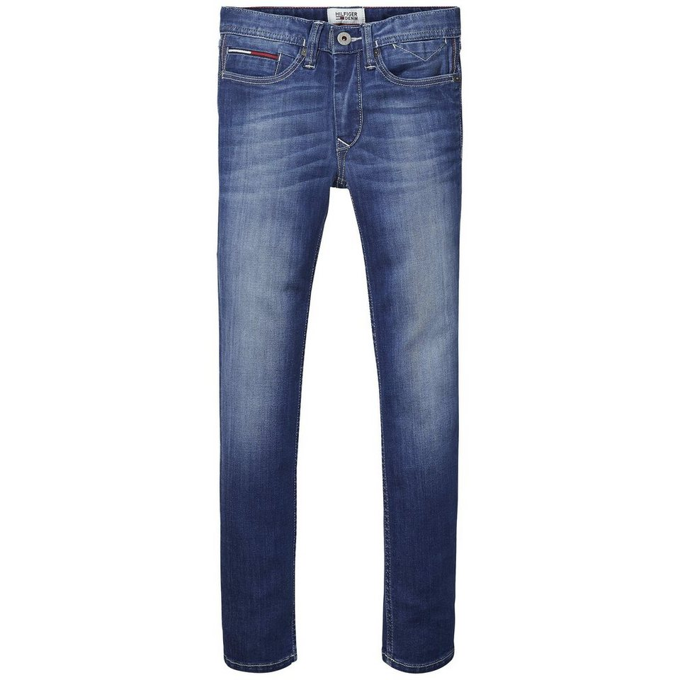 Tommy Hilfiger Denim Pants »STEVE SLIM IBSTR« in Island Blue Stretch