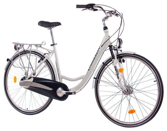 Chrisson Citybike (Damen) »RELAXIA 2.0 weiß, 71,12 cm (28 Zoll)«