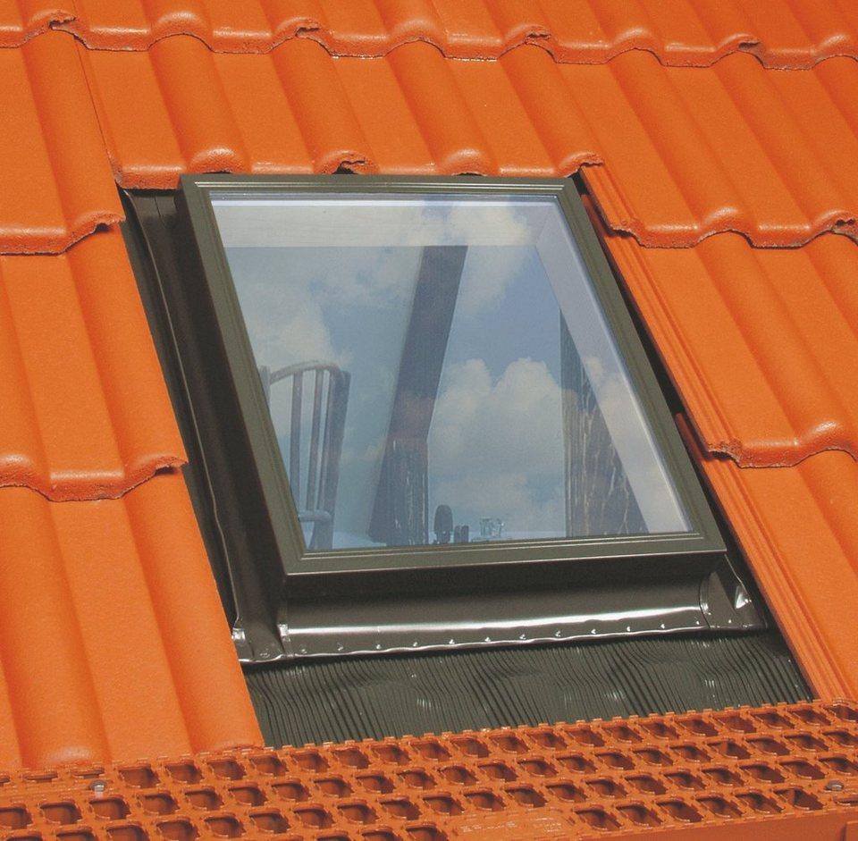 Dachfenster »Kaltdachausstieg WGI«, BxH: 46x55 cm in grau