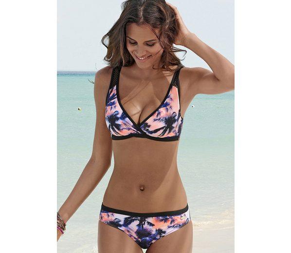 Professionel sunseeker Bügel-Bikini mit Mesh-Einsatz Offizielle Seite Günstig Online Billiger Preis JpvOCoZ