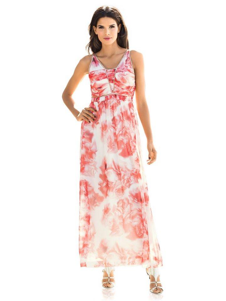 Abendkleid in koralle