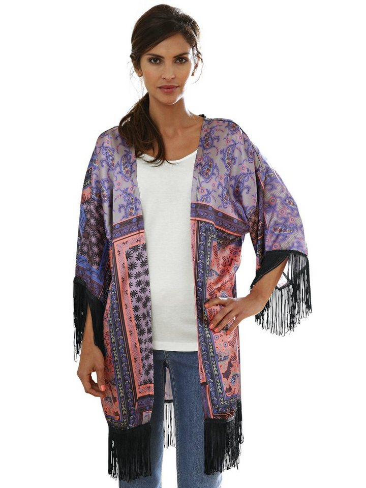 Kimono in bunt
