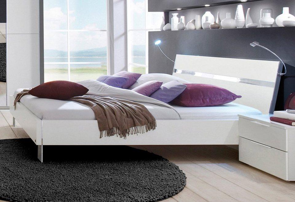 INOSIGN Futonbett, Made in Germany in weiß