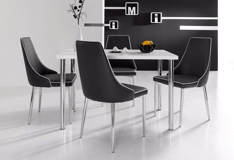 INOSIGN Stühle (2 Stück) in Schwarz