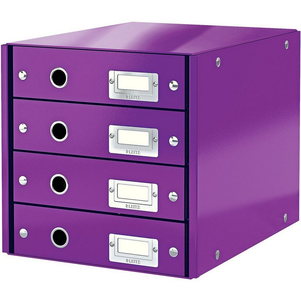 leitz schubladenbox wow 6049 »click & store« | otto