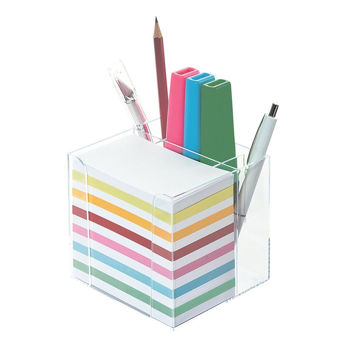 Wedo Zettelbox inkl. Stiftehalter