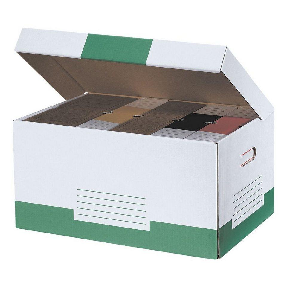 CARTONIA Klappdeckel-Container »Color« in grün