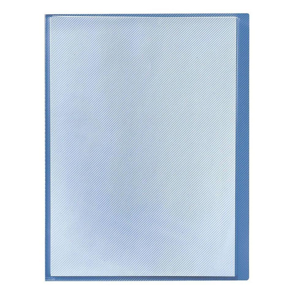 Herlitz Sichthüllenmappe in transparent blau