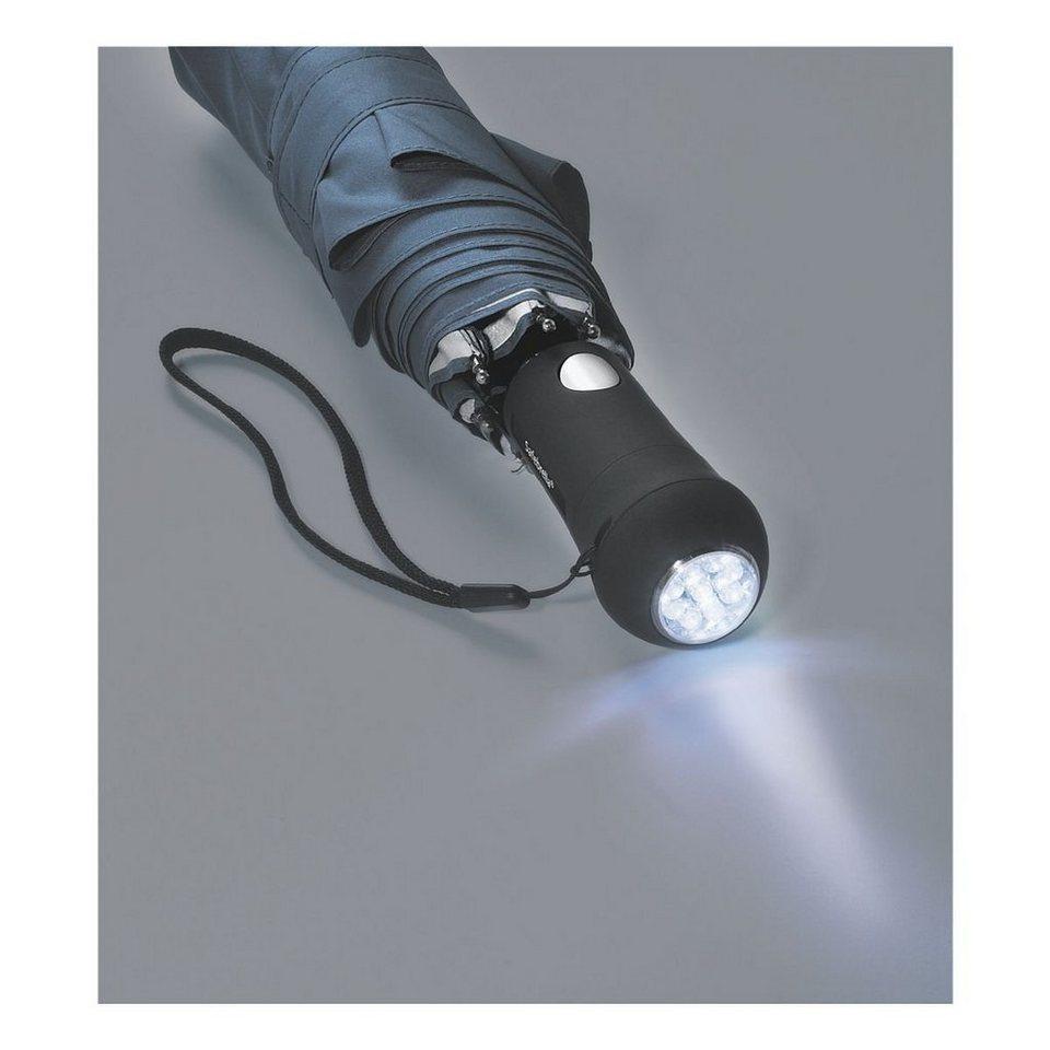Taschenschirm »Light« in schwarz