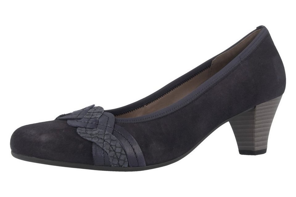 Gabor Pumps in Blau