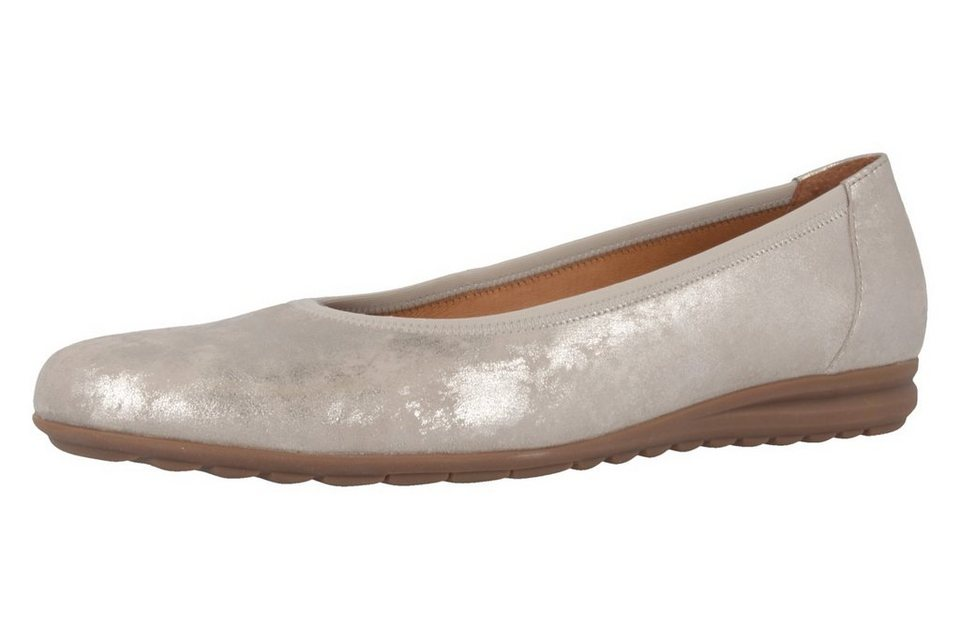 Gabor Ballerinas in Grau