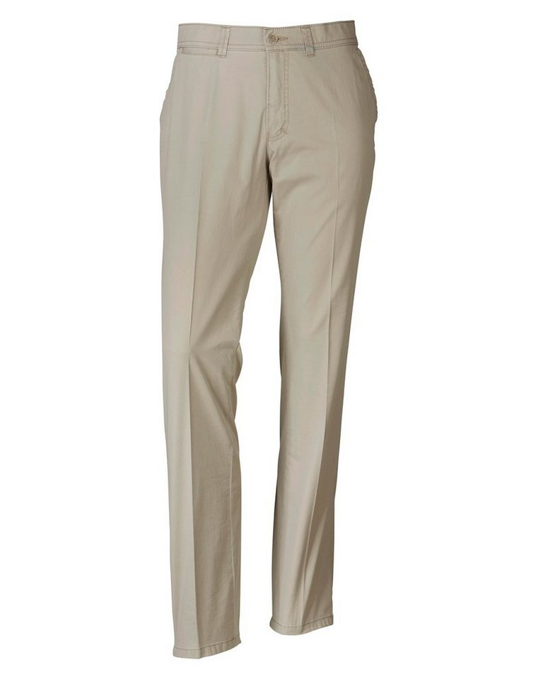 Club of Comfort Flatfront-Hose Carno in Beige