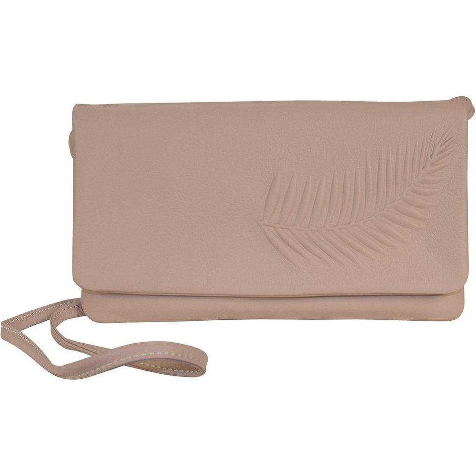 Bree Beverly Hills 13 Clutch Leder 25 cm in almond embossed