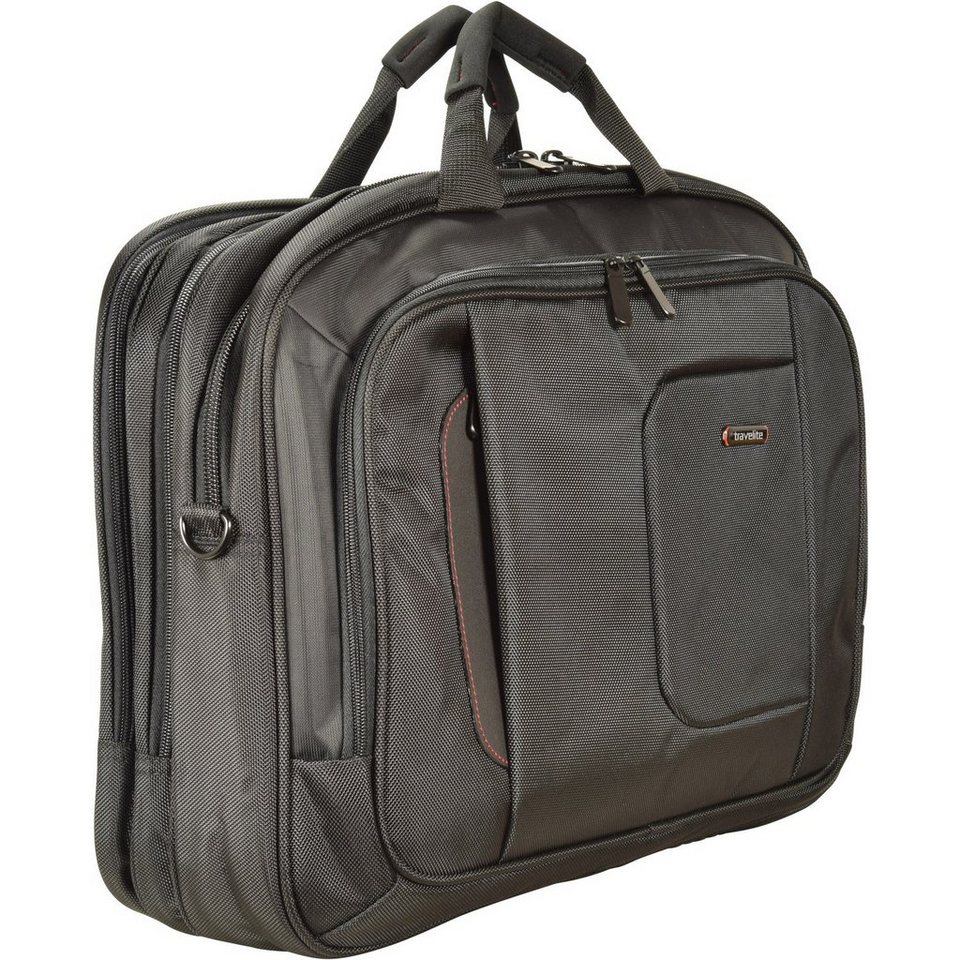 travelite -@work Business Laptoptasche 49 cm in schwarz