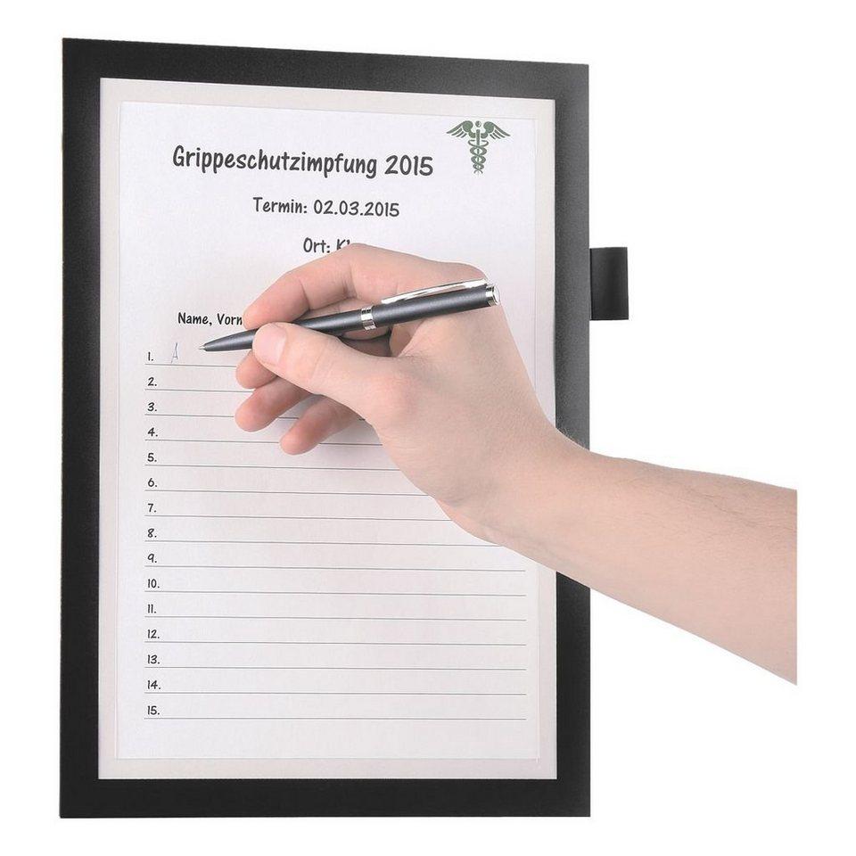 Durable Magnetischer Inforahmen »Duraframe Note« in schwarz