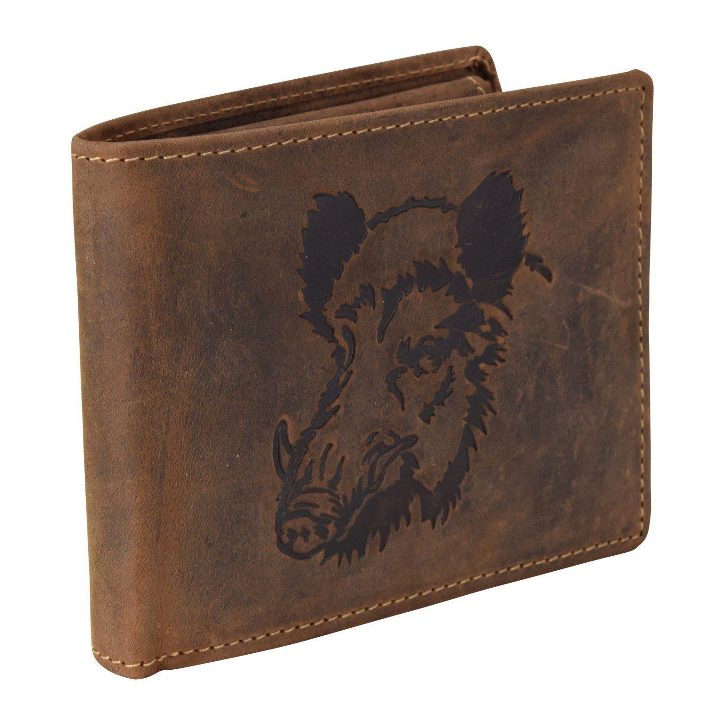 Greenburry Vintage Keiler Geldbörse Leder 12 cm