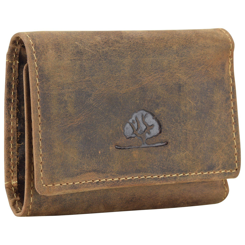 Greenburry Vintage Geldbörse V Leder 10 cm