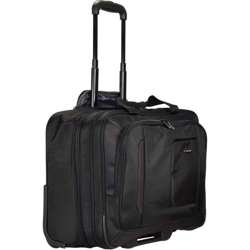 Travelite @work Business Trolley 49 cm Laptopfach in schwarz